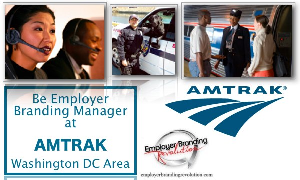 Amtrak - Employer Branding Manager - Job Opportunities - USA