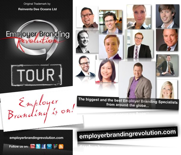Employer Branding Revolution 2012 London Moscow Milan New York Paris Berlin
