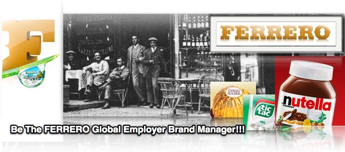 Global Employer Branding Manager at Ferrero - Jobs in Employer Branding