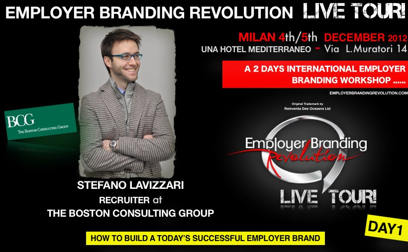Stefano Lavizzari - The Boston Consulting Group - Employer Brandign Revolution Day 1 - How to build a today's successful employer brand